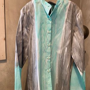 Melrosa Italy Hand Painted Cotton Shirt